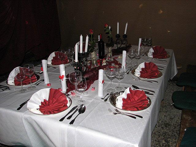 Beispiel: Dekorationsideen für Ihre Veranstaltung, Foto: Paiser Catering.