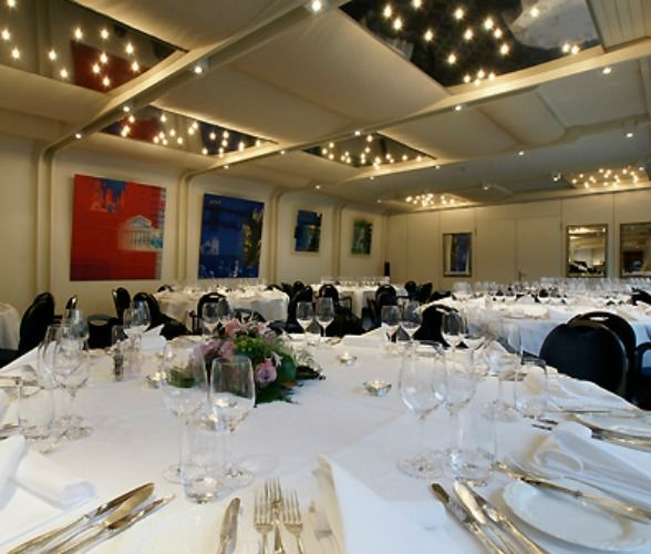 Beispiel: Tischdekoration, Foto: Hotel Restaurant Ochsen.