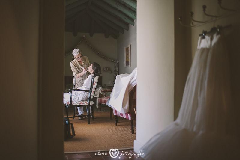 Boda Irene & Iñaki, Alma Fotografía,  Maquillaje de novia