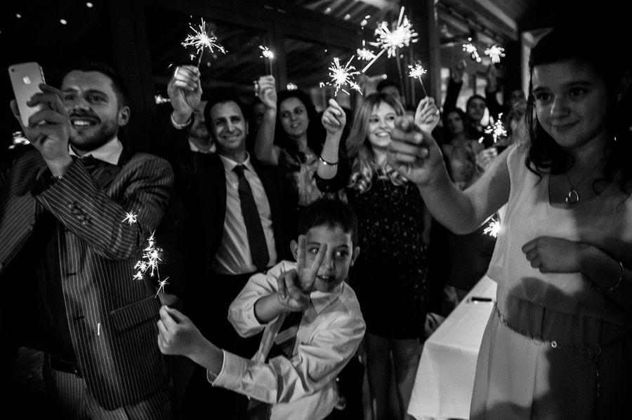 Beispiel: Stimmung auf der Hochzeitsfeier, Foto: Hochzeitsfotografie Thomas Göbert