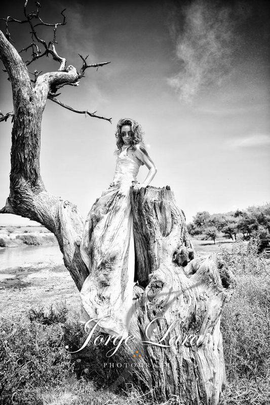 Sesión Trash the Dress