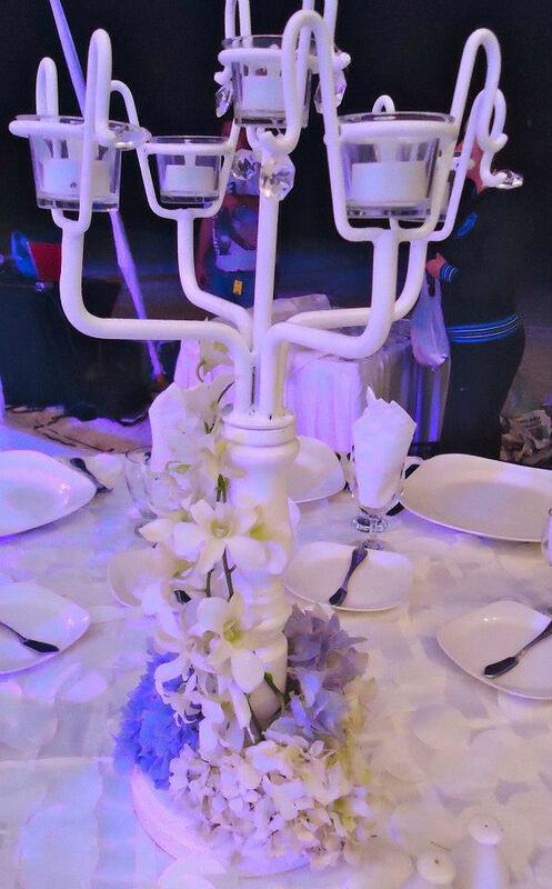 candelabros para boda