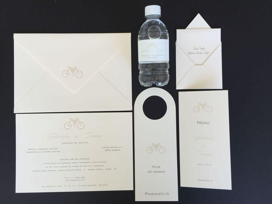 Chic e elegante  | Letter press
