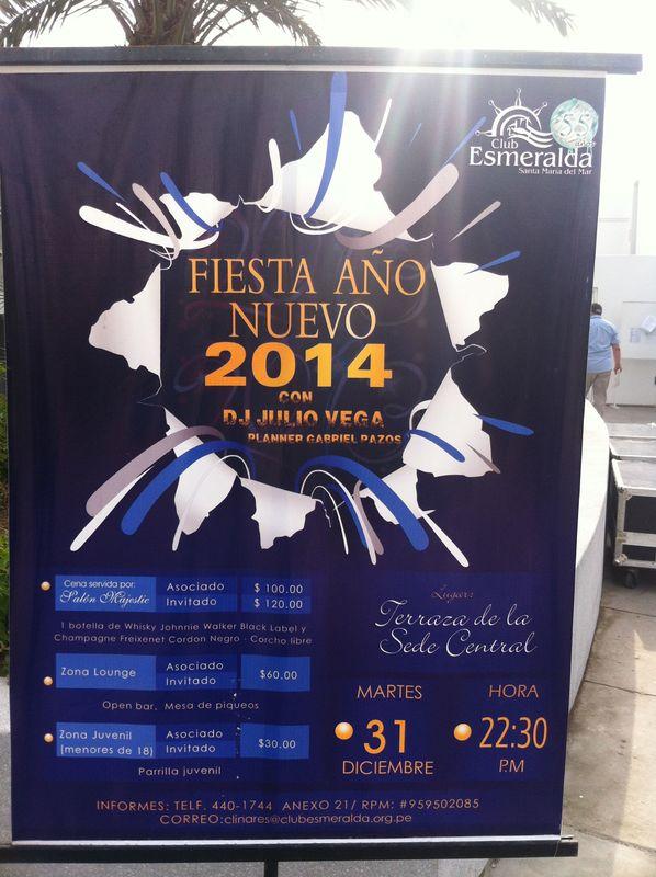 Fiesta en Playa Santa Maria