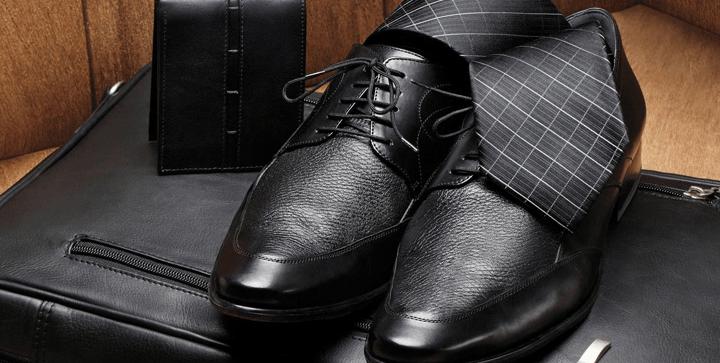 Zapatos, corbata y accesorios para novio en Robert's DF