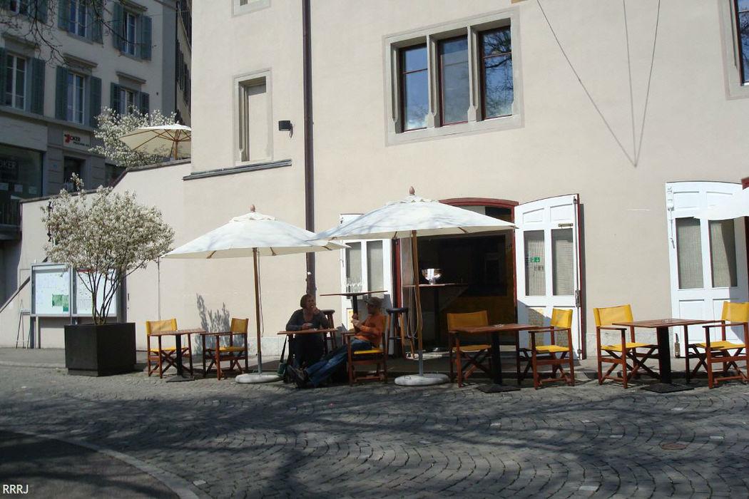 Beispiel: Terrasse, Foto: Restaurant Rathaus.