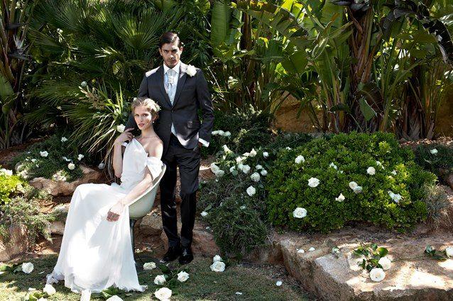 Beispiel: Anzüge für den Bräutigam, Foto: ELNOVIO - The Mens Gala.