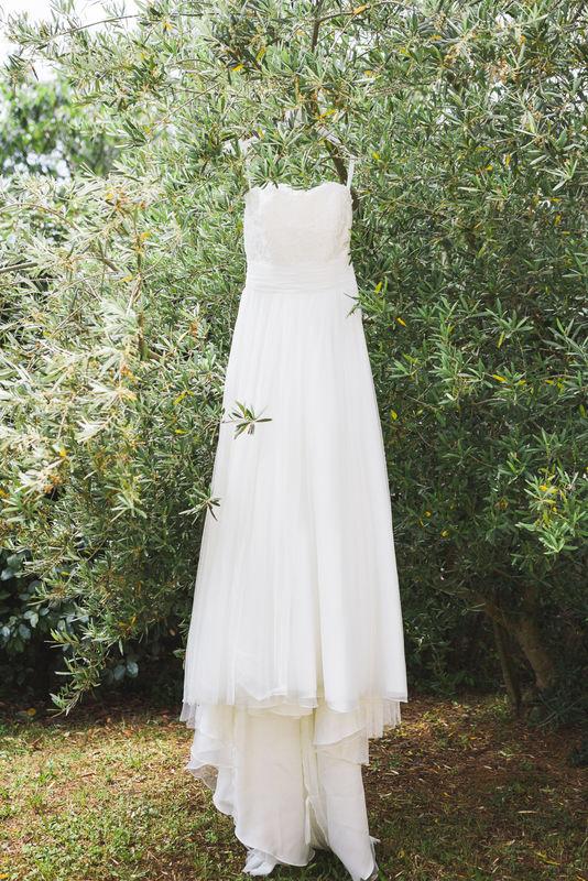 Robe de la mariée- robe de mariée Lucile Vives