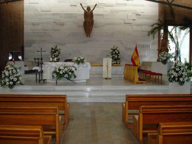 Decoración de la Iglesia
