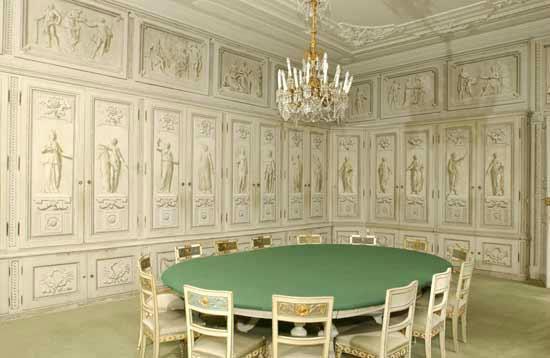Beispiel: Bibliothek, Foto: Bundeskanzleramt - Schloss Laudon.