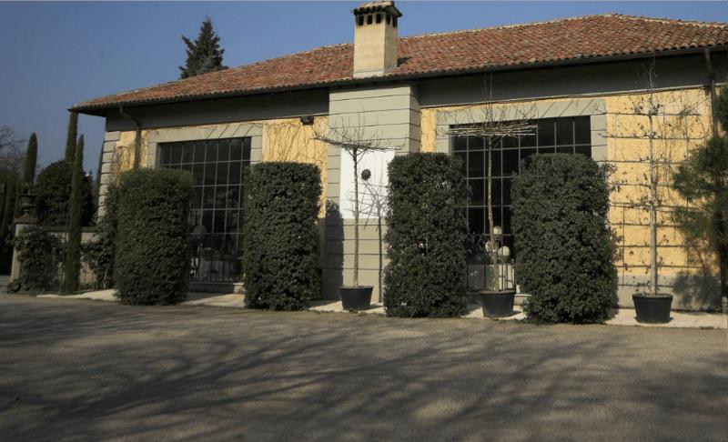 Beispiel: Gartenhaus, Foto: Gebrüder Meurer.