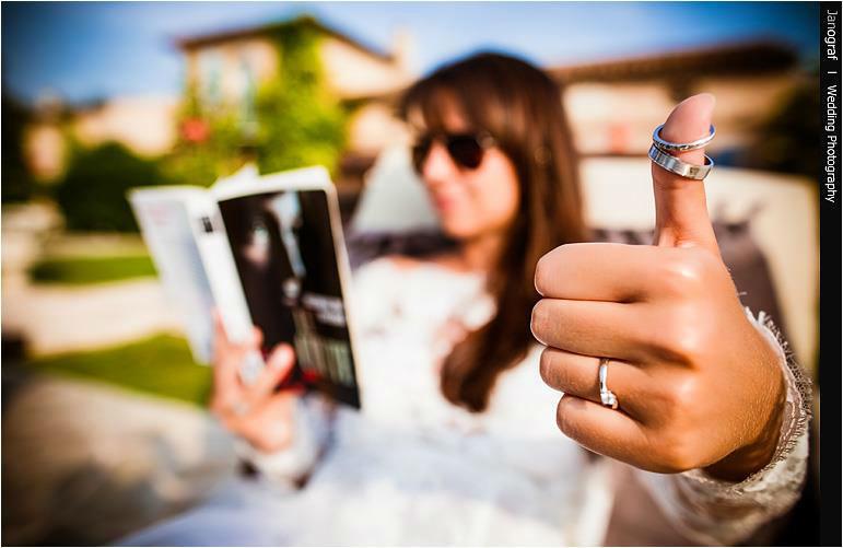 Beispiel: Kreative Detailfotografie, Foto: Janograf Wedding Photography.