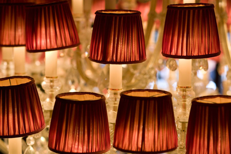 Beispiel: Beleuchtung, Foto: Zarges Restaurant.