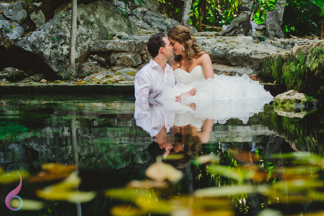 The Ocean Photo Weddings Cenote TTD Wedding Occidental at Xcaret Destination Riviera Maya photographer