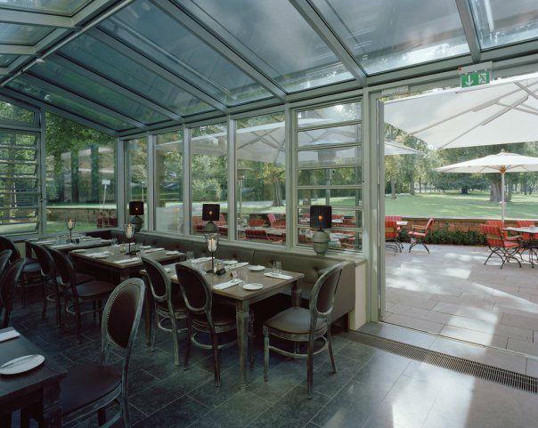 Beispiel: Wintergarten und Terrasse, Foto: Gerbermühle.