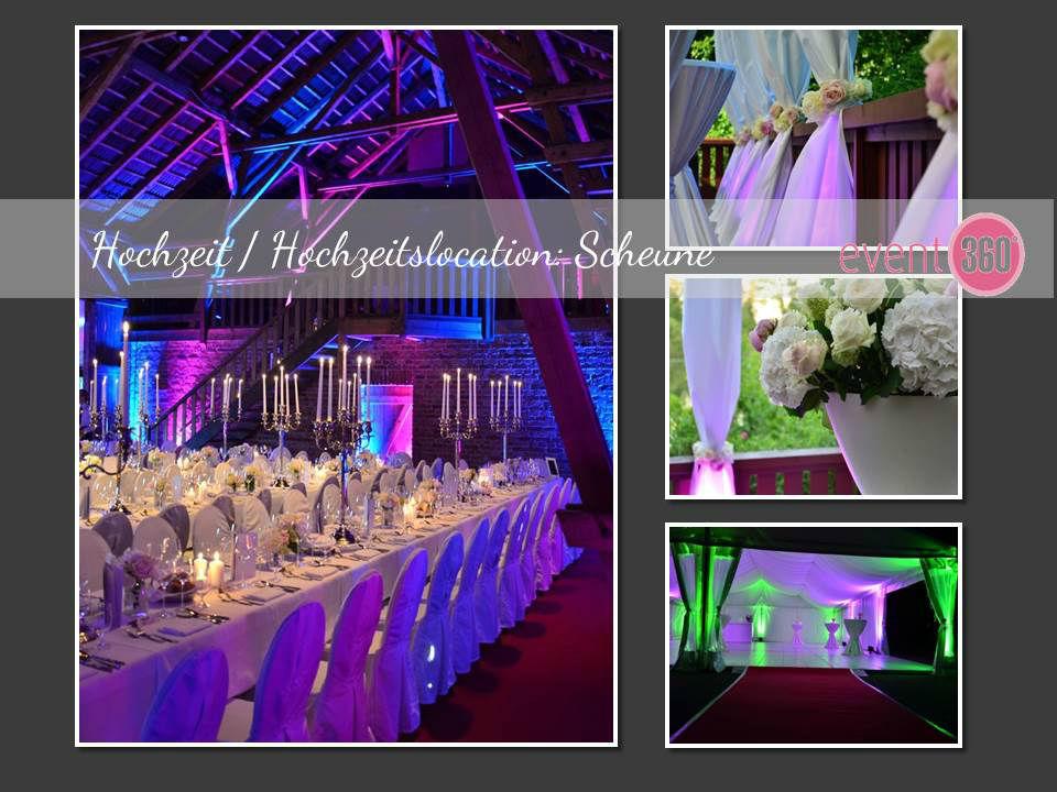 Beispiel: Hochzeit in der Scheune, Foto: event 360°.