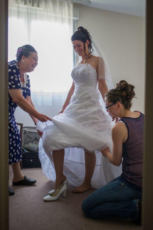 Habillage mariée 2