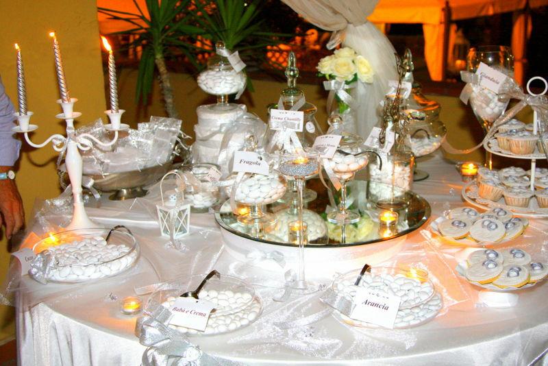 Confettata nozze d'argento