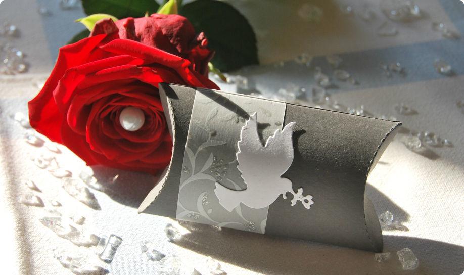 Beispiel: Geschenkkästchen, Foto: Cardlove.de.