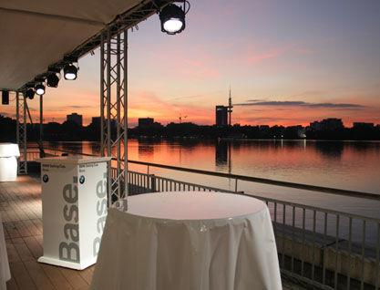 Beispiel: Sonnenuntergang, Foto: Alsterlounge.