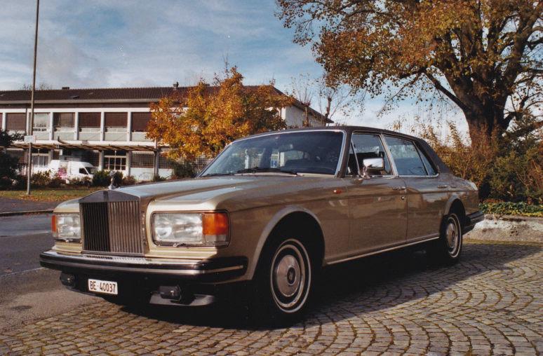 Beispiel: Der Rolls Royce, Foto: Roger's Limousinenservice.