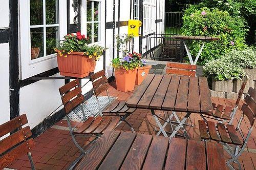 Beispiel: Terrasse, Foto: AKZENT Hotel Hahnenkamp.