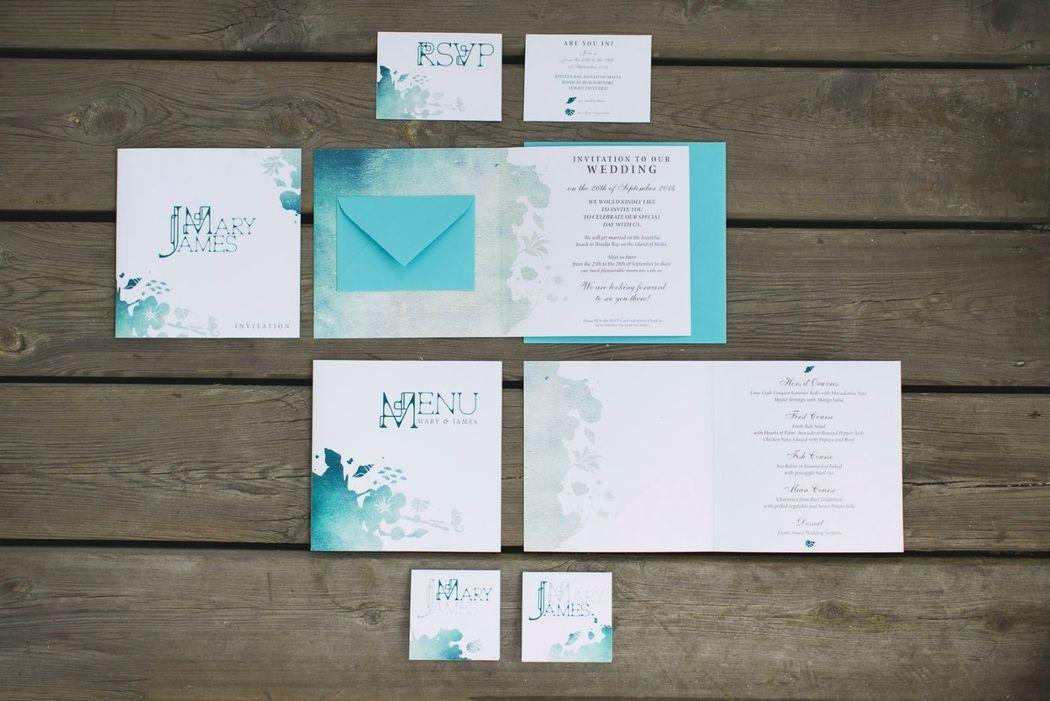 Beispiel: Hochzeitskonzept Maritim. Foto: wedding AGENCY