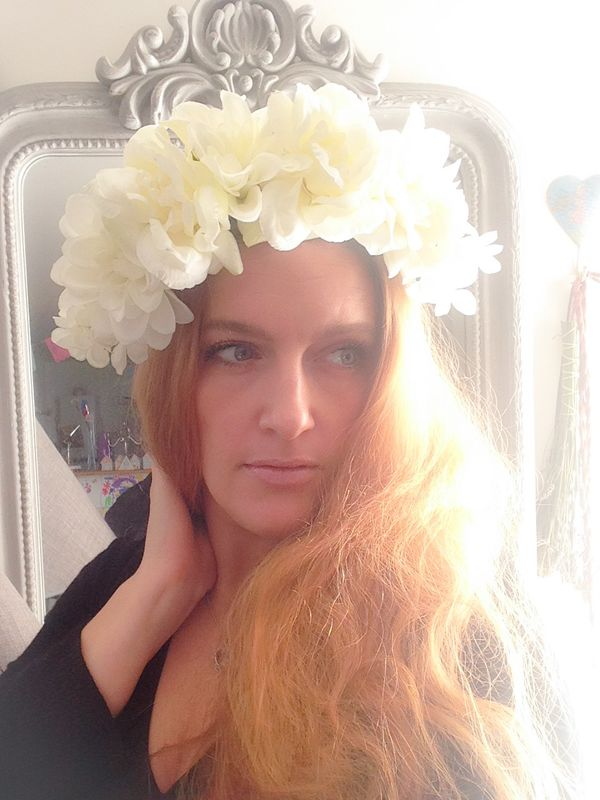 The Gypsy Mama  couronne de fleurs