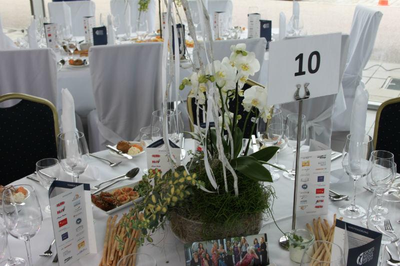 Beispiel: Tischdekoration, Foto: Moosburger Hof