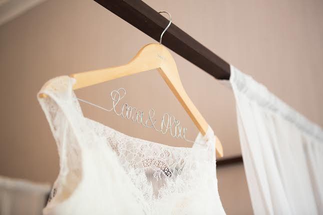 Cintre Nitouche - cintre personnalisé pour mariage