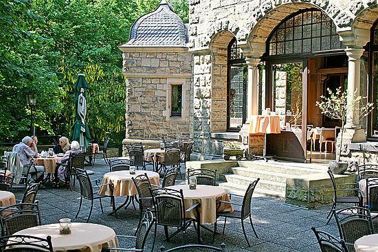 Beispiel: Terrasse, Foto: Schloss Garvensburg.