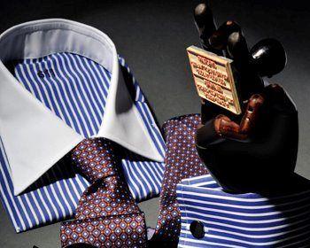 Beispiel: Herrenhemden, Foto: Calkap - Atelier für Maßkonfektion.