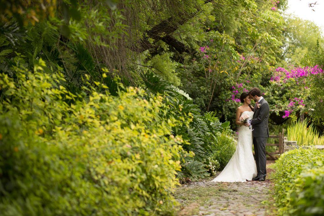 La Aldea, jardín para bodas en Guanajuato