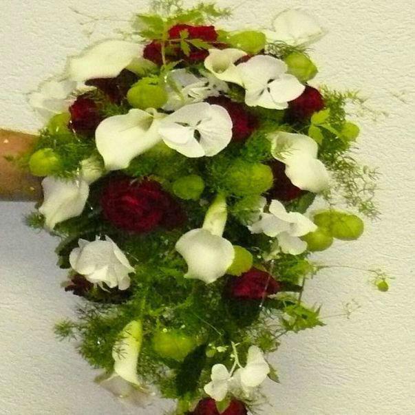 Beispiel: Brautsträuße für jeden Geschmack, Foto: Blumenhaus Frei.