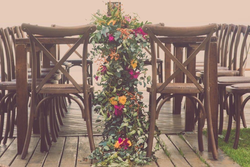 Um caminho feito de flores