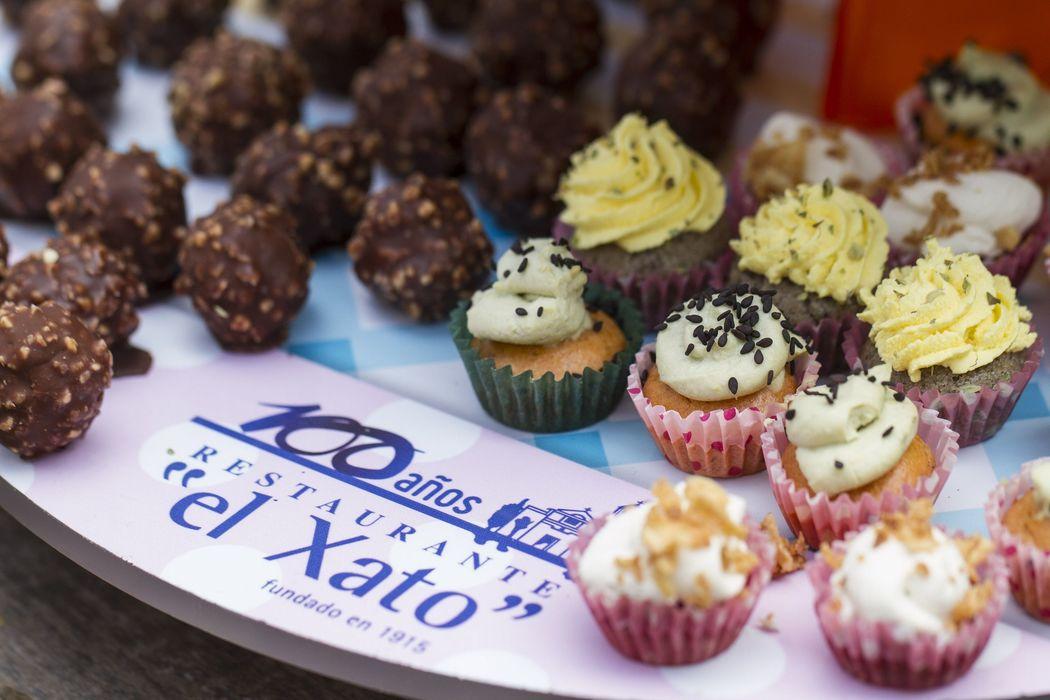 Cupcakes Salados y Ferrero de Foie