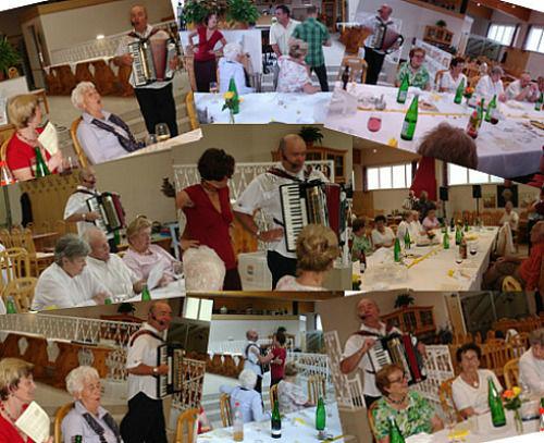 Beispiel: Familienfeier, Foto: Alleinunterhalter Norbert Schindlegger.