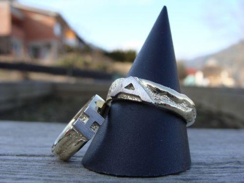 Beispiel: Ihre Eheringe, Foto: Der Goldschmied.