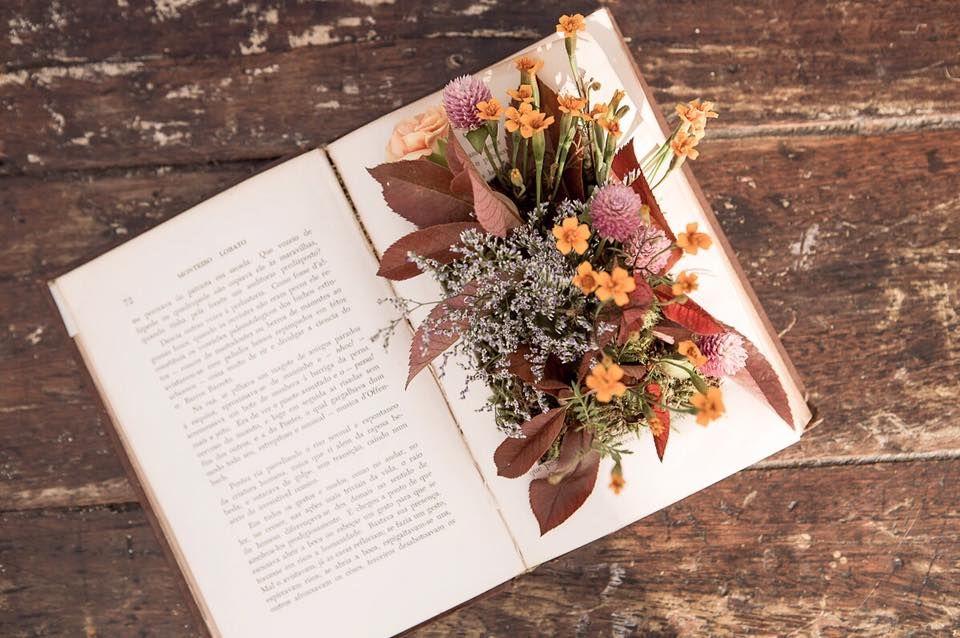 Para noiva escritora, um livro que é jardim