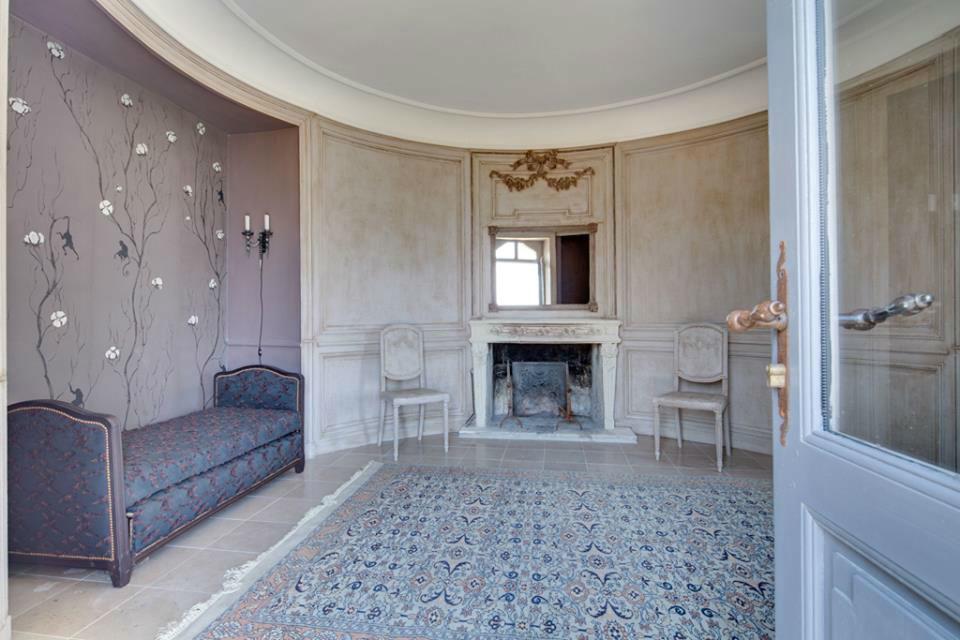 Chambre du Château de Candés Saint-Martin
