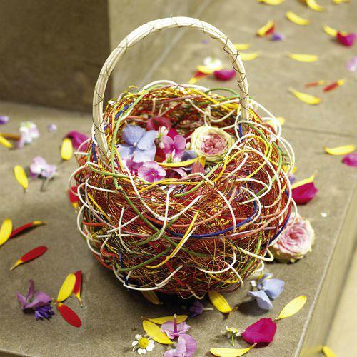 Beispiel: Streublumen, Foto: Blumen Becht.