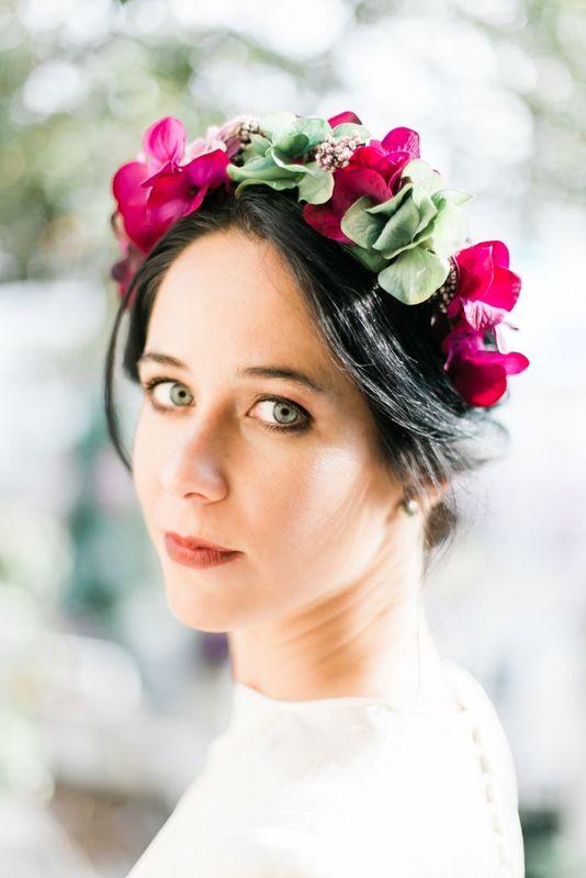Fotografía de Lidia Clemente. Maquillaje de Sophie Make up para nuestra firma de novias You&Me Project. Naturalidad y piel perfecta.