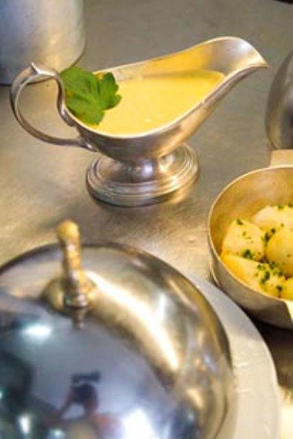 Beispiel: Exquisite Küche, Foto: Hotel Zum Ritter St. Georg.