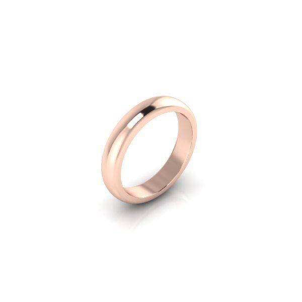Lanfossi Gioielli - Fede Classica oro rosa 18 k