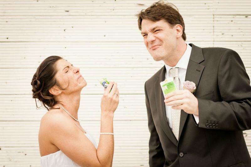 Beispiel: Der Hochzeitsfotograf mit Witz, Foto: Patrick Ludolph.