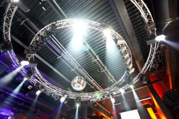Beispiel: Beleuchtung, Foto: SZ-Veranstaltungsservice.
