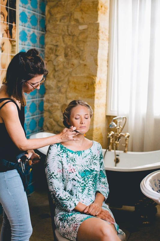 Mya Photography - Photographe de mariage - Bordeaux Coiffure et Maquillage : Pauline B Lieu de Réception : Château de la ligne
