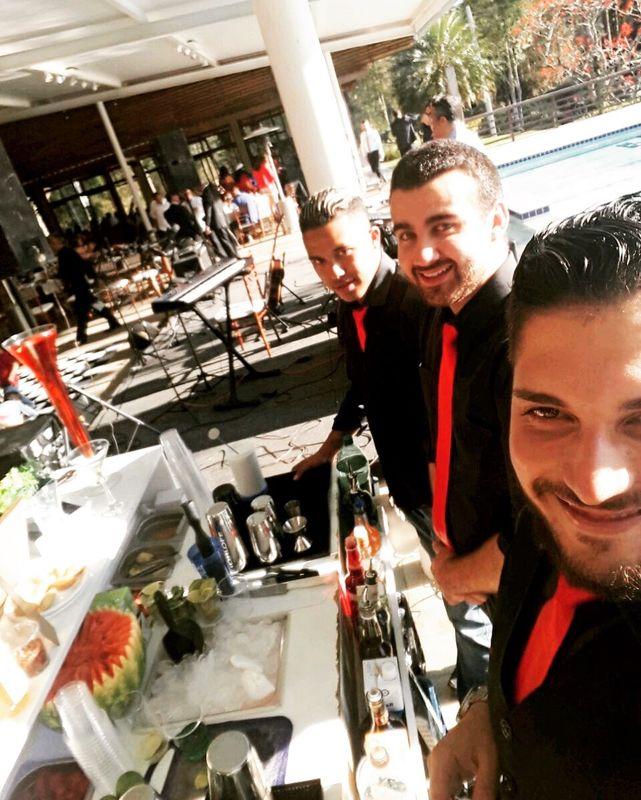 Equipe de bartenders