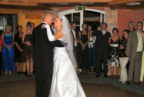 Beispiel: Hochzeitstanz, Foto: DJ Marco Schmidt.
