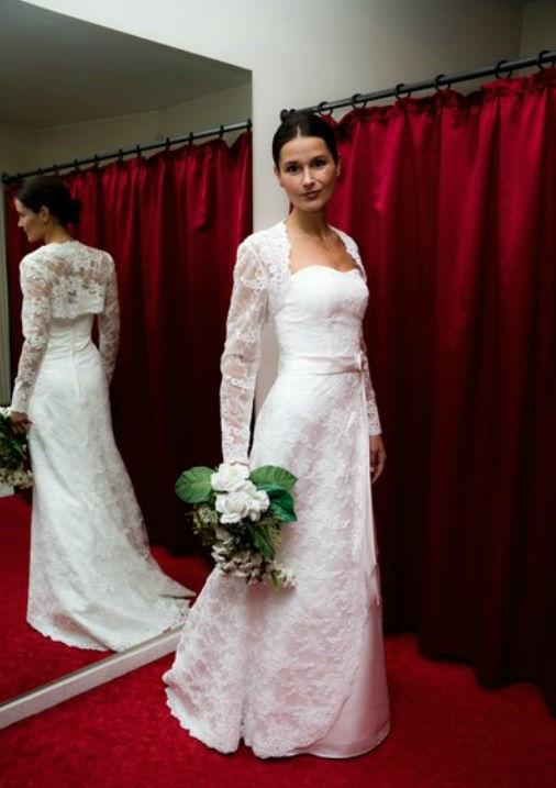 Beispiel: Das perfekte Outfit, Foto: Hochzeitsmoden Diener.